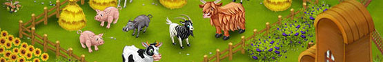 Giochi di Fattoria Gratis - Animals in Farm Games