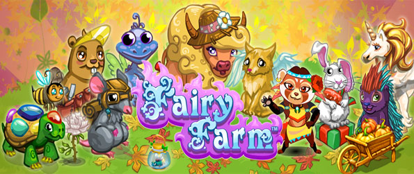 Fairy Farm - Enjoy a really cute and fun farm game with dragons and unicorns as pets.