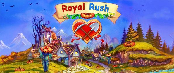 Royal Rush - Save the kingdom and the princess in a fun farm simulation game.