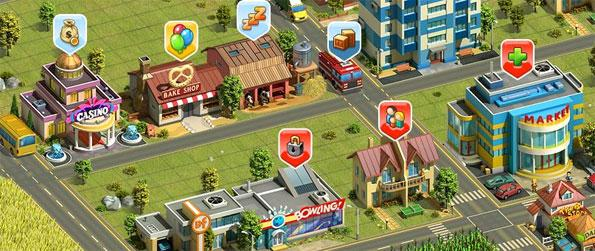 Eco Farm - Enjoy a city building and farming game where you can create a perfect eco city of your own.
