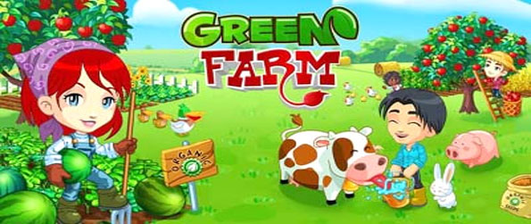 Green Farm - Create and nurture your own farm in any way you want.