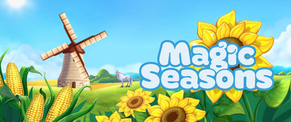 Magic Seasons - In the Facebook game Magic Seasons, players are given the wonderful opportunity to get their hands dirty by planting different crops for a hobby! Enjoy this simple simulation game now!