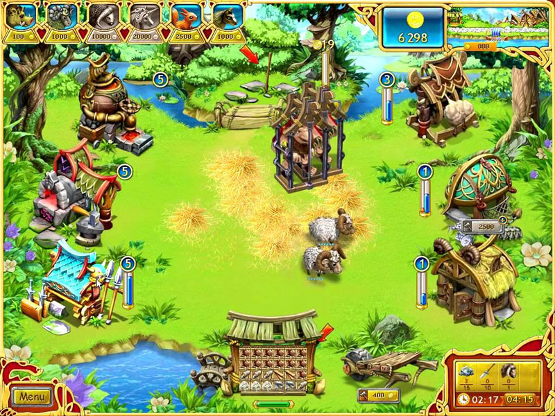 Download Farm Frenzy - Viking Heroes for free at FreeRide Games